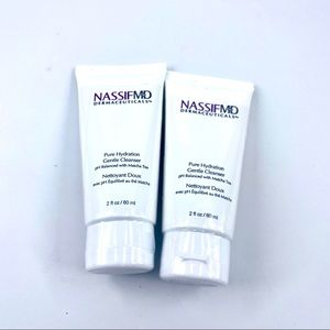 NassifMD pure hydration gentle cleanser lot of 2